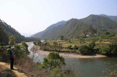 De Punakha à Nyezergang -