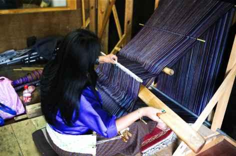 Tissage-Bhoutan -