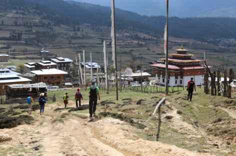 Arrivée à Ura-Bhoutan -