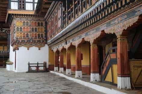 Intérieur du dzong de Paro - Bhoutan -