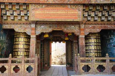 Le portail d'entrée de Tango -