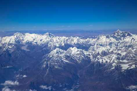 Vol Delhi Paro Cho Oyu et Everest -