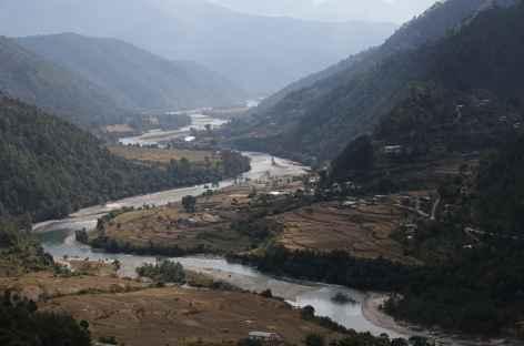 En allant au chorten de  Nyezergang  -