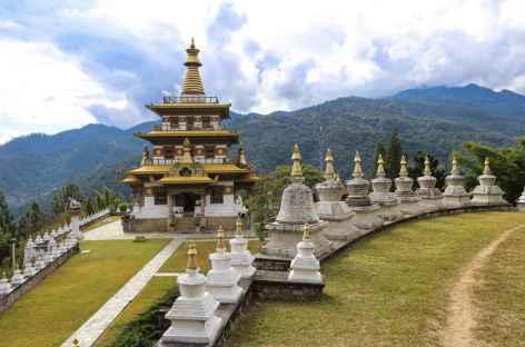Vue d'ensemble du chorten de Nyezergang  -