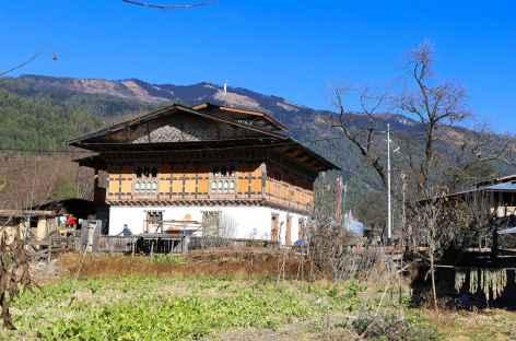 Maison traditionnelle du village de Tangbi -