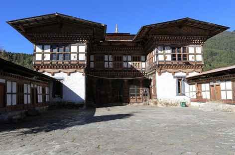 Façade du monastère de Tangbi -