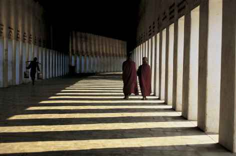 Pagode Shwezigon - Pagan - Birmanie -