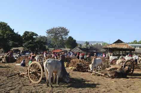 Marché au sud du lac Inle - Birmanie -