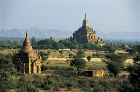 Deux temples importants de Pagan - Birmanie -