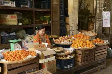 Marché à Salay - Birmanie -