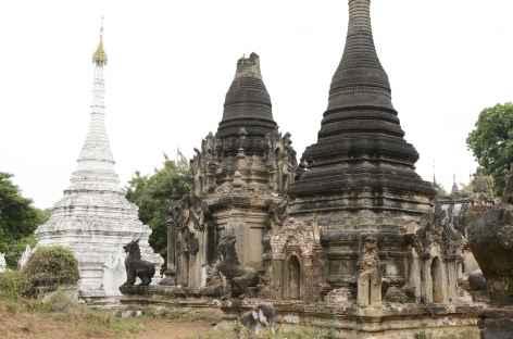 Site de Mahuale sur la route de Pakkoku - Birmanie -