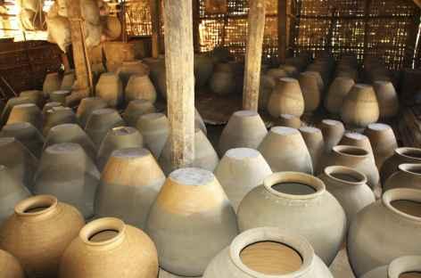 Poterie près de Bago - Birmanie -