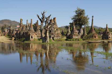Site de Sagar au sud du lac Inle - Birmanie -