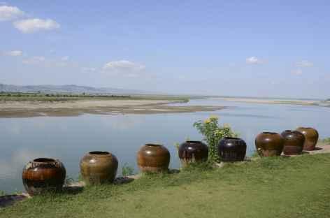 Pagan, le long du fleuve Irrawady - Birmanie -