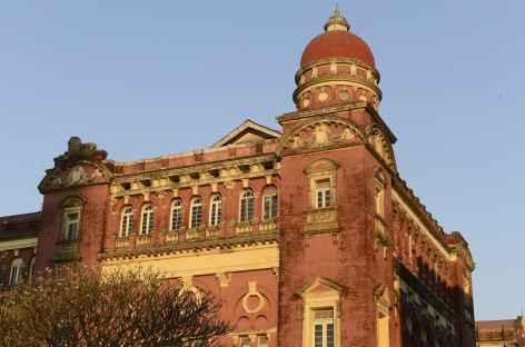 La Haute Cour de justice à Yangon - Birmanie -