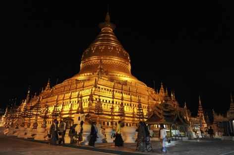 Pagode Shwezigon à Pagan - Birmanie -