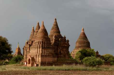 Quelques temples de Pagan - Birmanie -