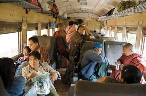 Le train de Kalaw - Birmanie -