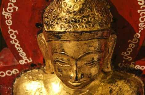 Visage du Bouddha - Pindaya - Birmanie -