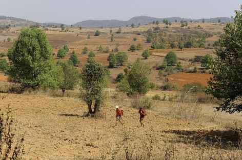 Au cours du trek chez les Paos - Birmanie -