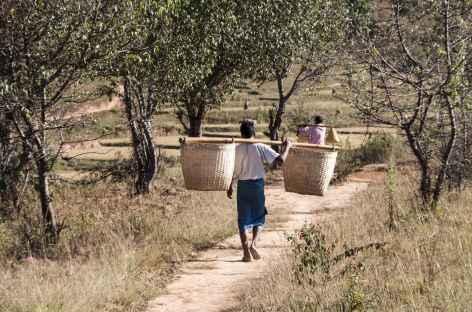 Trek chez les Paos - Birmanie -