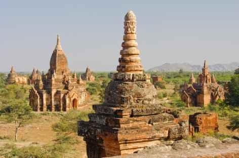 Depuis le sommet d'une pagode - Birmanie -