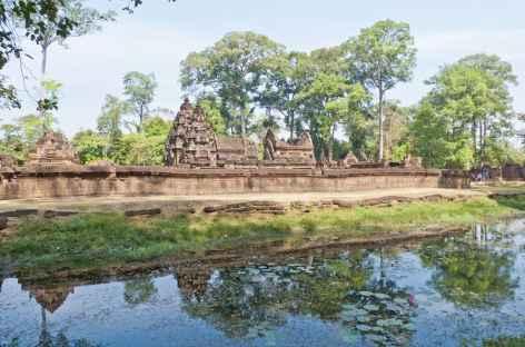 Arrivée sur le temple de Beng Melea - Cambodge -