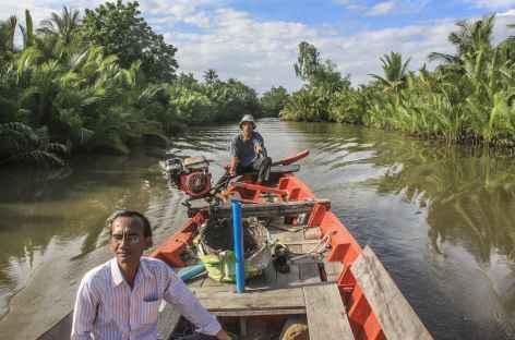 Navigation sur la rivière Kampot - Cambodge -