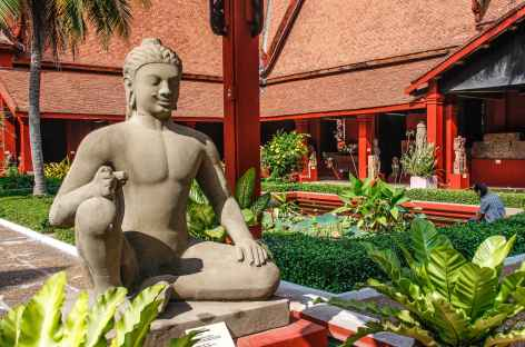 Phnom Penh, le musée national - Cambodge -