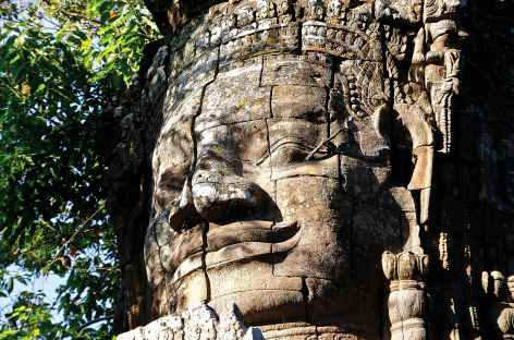 Les tours du Bayon - Cambodge -