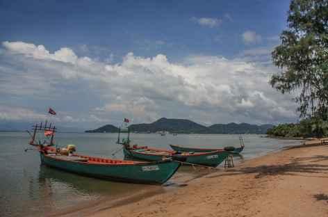 Une belle plage sur l'île du Lapin - Cambodge -