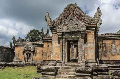 Sur le site angkorien de Preah Vihear - Cambodge -
