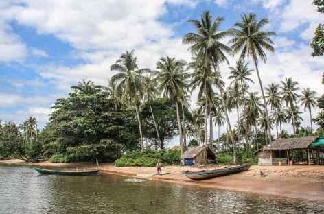 Arrivée sur l'île du Lapin - Cambodge -