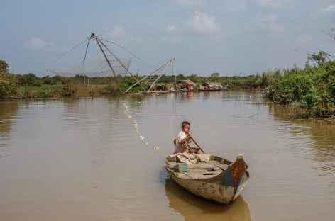 Navigation sur la rivière Sangker - Cambodge -