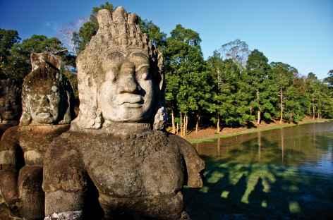 Angkor, le barratage de la mer de lait - Cambodge -