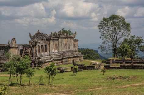 Sur le site de Preah Vihear - Cambodge -