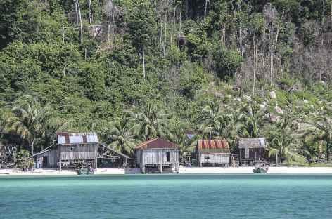 A l'approche de l'île Koh Rong - Cambodge -