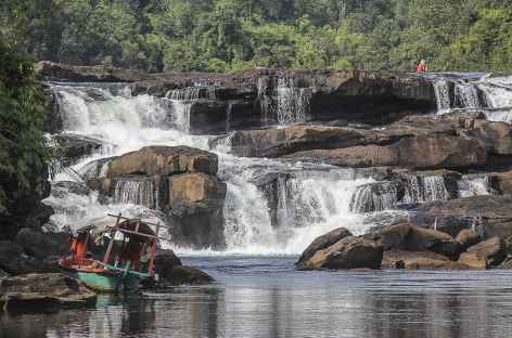 Cascade sur la rivière Tataï  - Cambodge -
