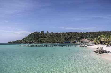 Plage de rêve sur l'île de Koh Rong - Cambodge -