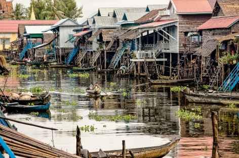 Dans le village flottant de Kompong Phluk - Cambodge -