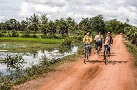 Dans la campagne cambodgienne - Cambodge -