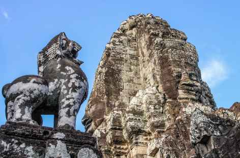 Le temple du Bayon à Angkor - Cambodge -