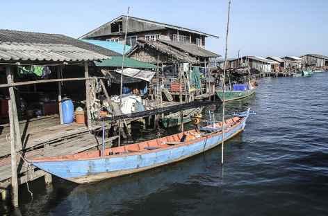Village flottant sur la mer de Siam - Cambodge -