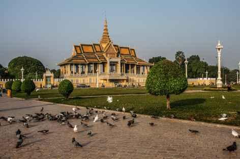 Phnom Penh, entre le Mékong et le Palais Royal - Cambodge -