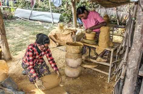 Potiers à Pursat - Cambodge -