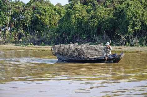 Sur le lac Tonle Sap - Cambodge -