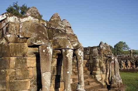 Angkor, la terrasse des éléphants - Cambodge -
