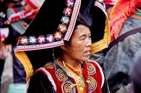 Minorité Yi Yunnan-Chine -