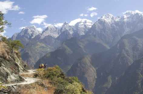 Gorges saut du tigre Yunnan Chine -