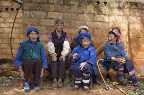 Rencontre dans un village -